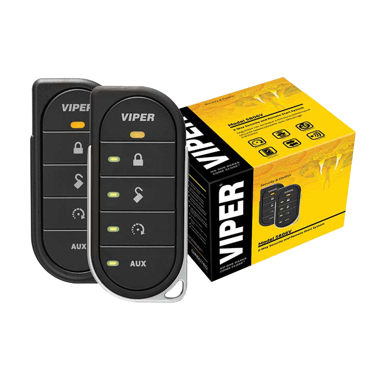 Viper LED 2-Way Security + Remote Start System