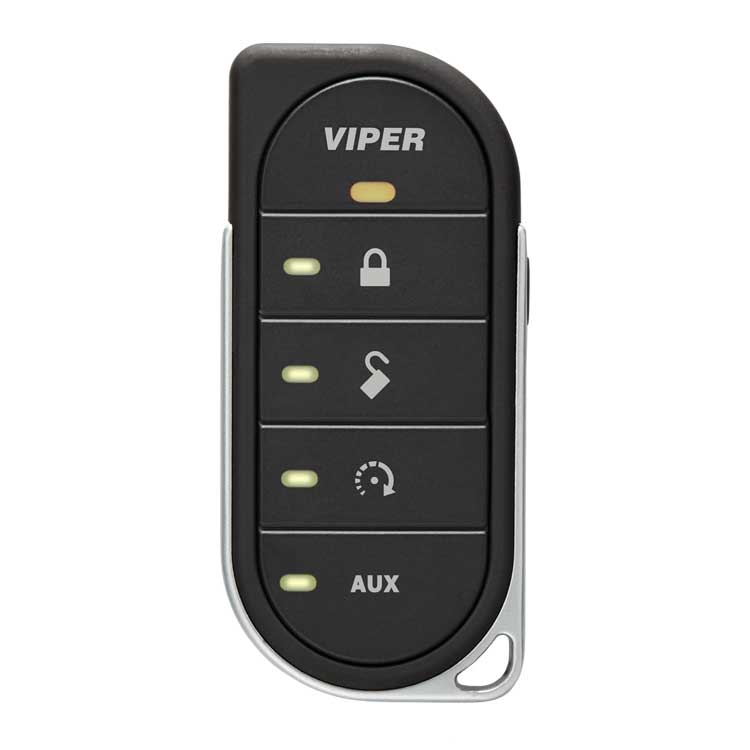 Viper led way security remote start system