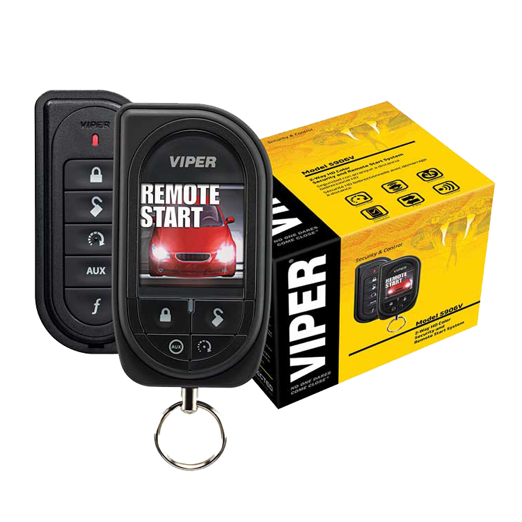 Viper Color OLED 2-Way Security + Remote Start System